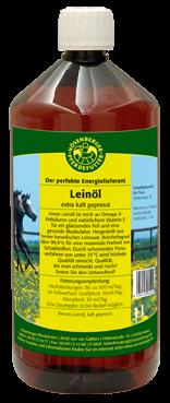 Nösenberger Leinöl für Pferde