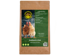 Knoblauch & Zimt 500 g - Hühnerfutter