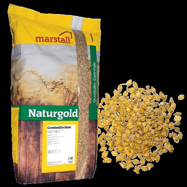 Marstall Naturgold- Gersteflocken 20 kg