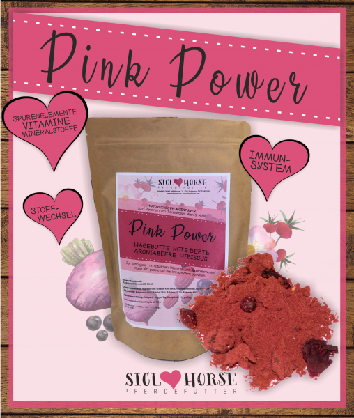 Siglhorse Pink Power