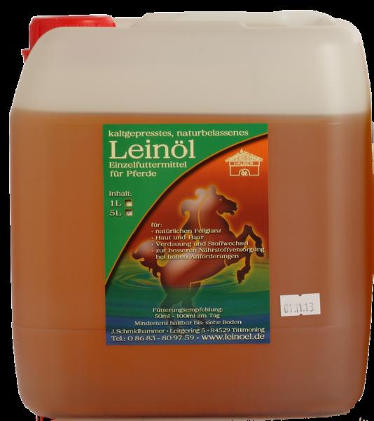 Hauser Leinöl für Pferde 5 l