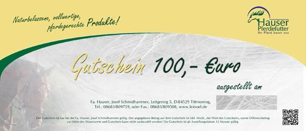 Gutschein 100 €uro