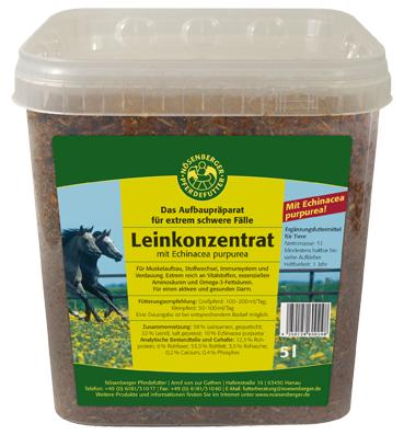 Nösenberger Leinkonzentrat mit Echinacea purpurea